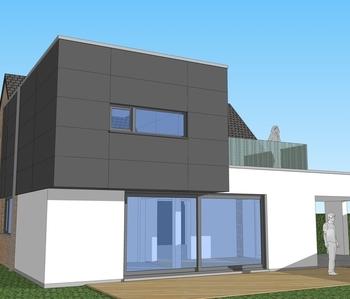 Extension d'une habitation unifamiliale - BONCELLES