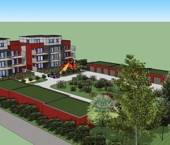 Construction de 21 appartement - FLEMALLE