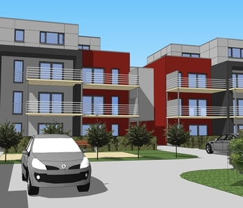 Construction de 21 appartement - FLEMALLE